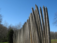 Fort walls re-created (Oldtown, North Carolina, United States) Photo