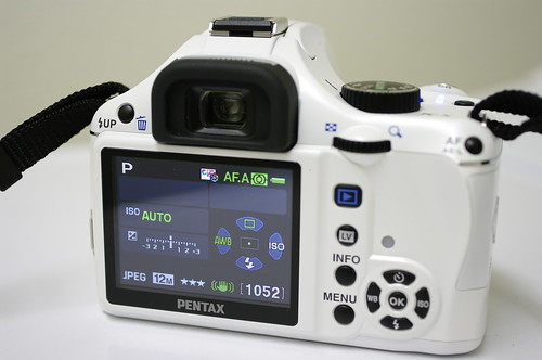 pentax k-x white with limited primes