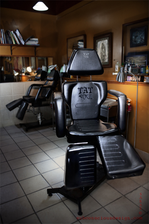 Shop photo & TatSoul 370 Tattoo Chair Review « TATTOO SUPPLY REVIEWS
