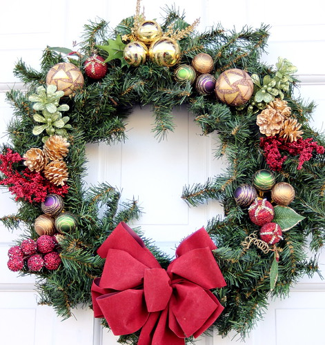 Christmas Wreath '09