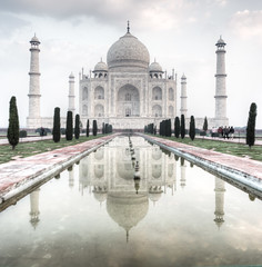 Taj Mahal, front profile