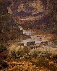 Winter on the Snake (Dave Arnold Photo) Tags: winter usa river us photo foto image snake id picture pic canyon idaho american snakeriver getty snakerivercanyon davearnold greatimage canonequipment drywinter canonphotographer photid davearnoldphoto arnoldd