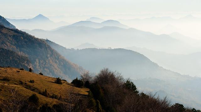 Serra Cavallera i la Garrotxa