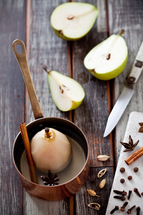 Sunday Mornings Are For Poaching Pears