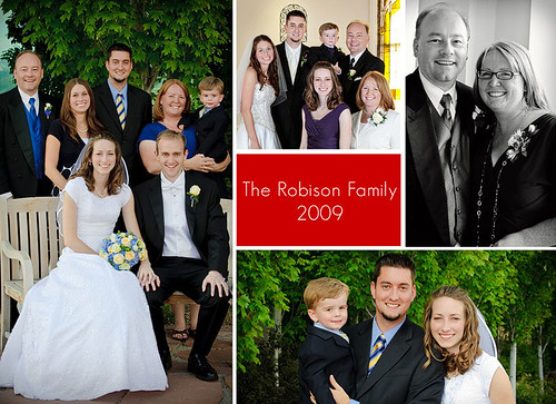Robison Family Card Front