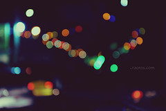 a bokeh on Ashoura night (Zizox) Tags: street night lights bokeh خیابان چراغانی بوکه