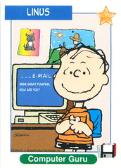 Peanuts MetLife All Star Cards - Linus