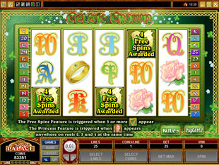 free Celtic Crown free spins
