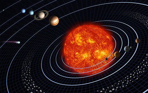 Our Solar System - Illustration by NASA