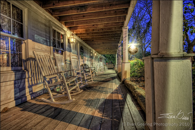 Stagecoach Inn Porch