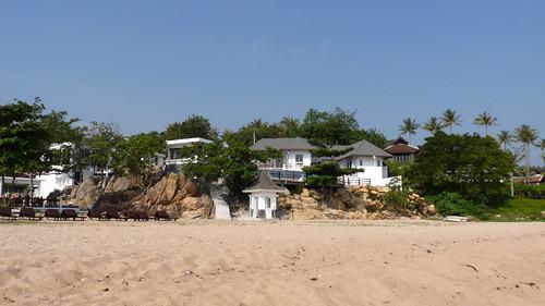 Koh Samui Chaweng beach North end コサムイ チャウエンビーチ 北端6