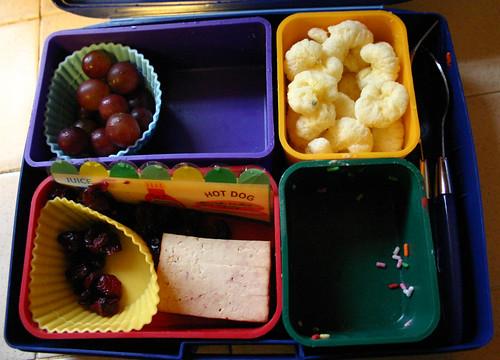 Kindergarten Bento #281: January 19, 2010