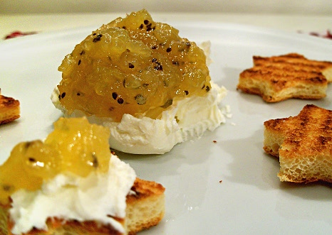 mostarda al kiwi