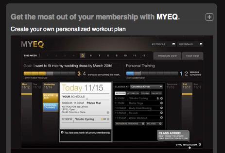MYEQ / Equinox Club