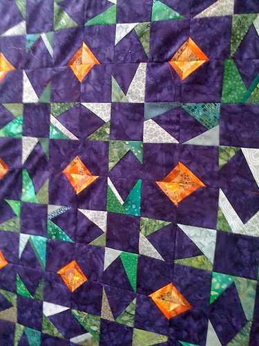 quilt step 4: sew the seams up!