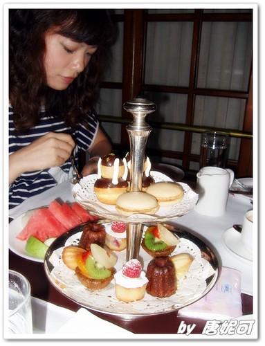唐妮可☆吃喝玩樂過生活 拍攝的 20090620亞都麗緻下午茶_13。