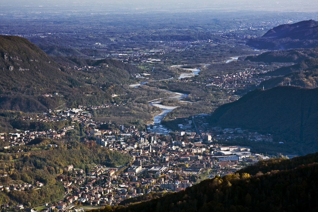 Borgosesia from Monte Tovo #2