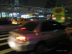 Cars...... (BlueJeff) Tags: life cars taiwan taipei   traffice intersections 365project