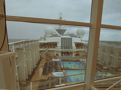 Celebrity Solstice view of the pool