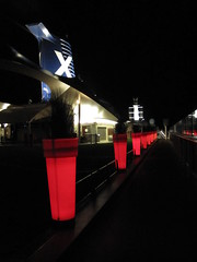 Celebrity Solstice Deck at Night