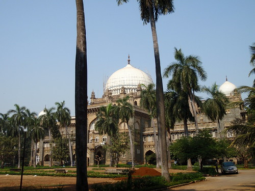 Outer view of (ex) Prince of Wales Museum, Mumbai