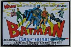 1966 BATMAN vintage illustration movie advertisement reprint 1960s (Christian Montone) Tags: robin superhero batman movies characters 1960s adamwest vintageillustration burtward vintagecinema vintagegraphics