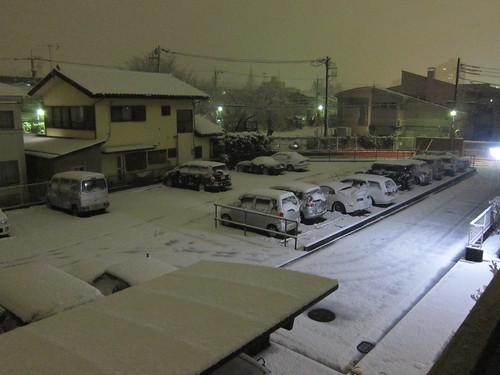 雪景色をPowerShot S90で撮影