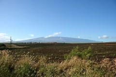 Hana Highway, Haleakala View From Paia