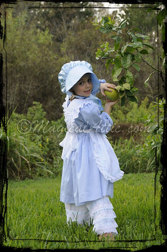 Custom Boutique Little Bo Peep Costume Dress Set in Blue