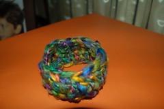 creazioni betta 007 (elisabetta mastrosimone) Tags: lana braccialetto alluncinetto