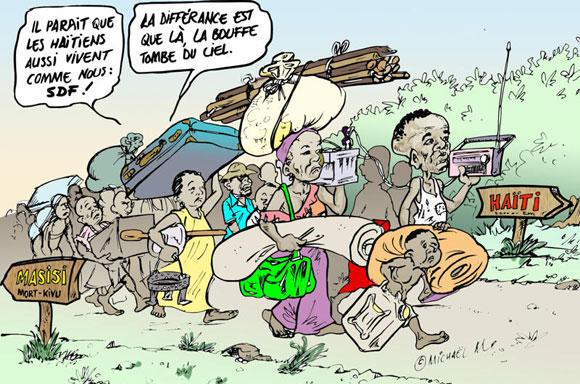 Les congolais de l'est s'interrogent : et nous allions tous vivre à Haïti ?