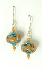 """Wavey Bead Earrings • <a style=""""font-size:0.8em;"""" href=""""https://www.flickr.com/photos/37516896@N05/4362128241/"""" target=""""_blank"""">View on Flickr</a>"""