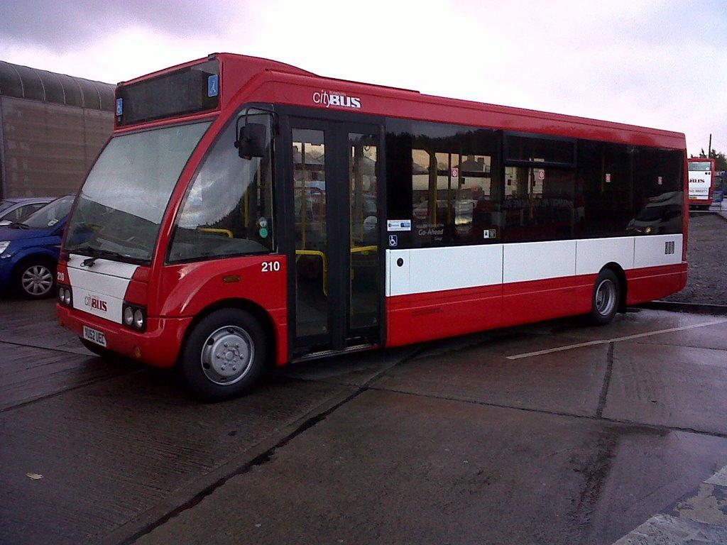 Plymouth Citybus 210 VU52UEE