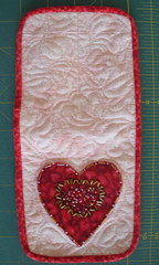 Outside of sewing kit after binding