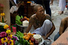 Practitioner and Offerings (Ursula in Aus (Away Travelling)) Tags: tattoo thailand yantra tattooing waikhru nakhonpathom นครปฐม ประเทศไทย sakyant tattoofestival รอยสัก watbangphra nakhonchaisi earthasia nakhonchaisri totallythailand วัดหลวงพ่อเปิ่น ครู รูปสัก วัดบางพระ ลายสัก สักยันต