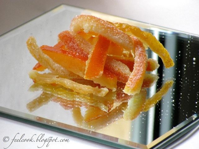 Scorze di arancia e cedro