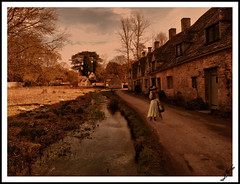 Arlington Row, Bibury, UK - JAKE473
