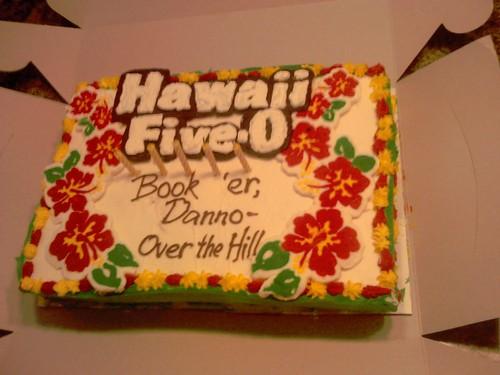 Hawaii 50 Cake