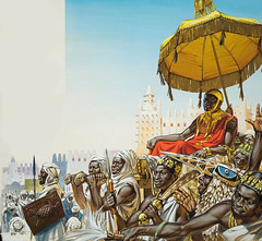 African King (cool-art) Tags: africa black temple gold king african afro muslim islam negro culture mosque poet civilization mali timbuktu negra cultura emperor mansamusa