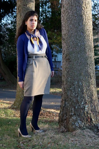 Pencil skirt - look one
