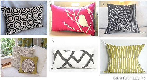 Graphic Pillows