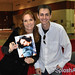 Lea Thompson with Daniel at Megacon 2010