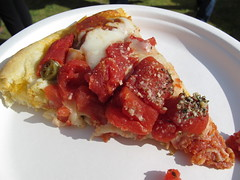 Via Chicago Meaty Pizza Slice