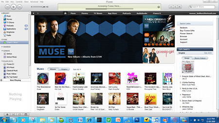 itunes 9 marketplace