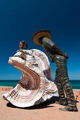 Sculpture on the Malecn (bruce...) Tags: mexico nikon malecon puertovallarta cpl malecn d300 tokina1116mmf28 atx116prodx