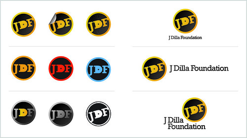 J Dilla Foundation Logo Concept #1 (Variations)