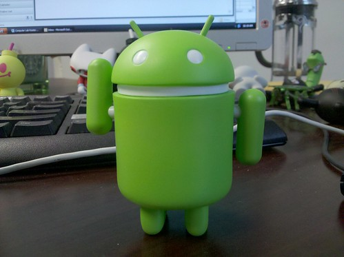 There's an Android on my desk.