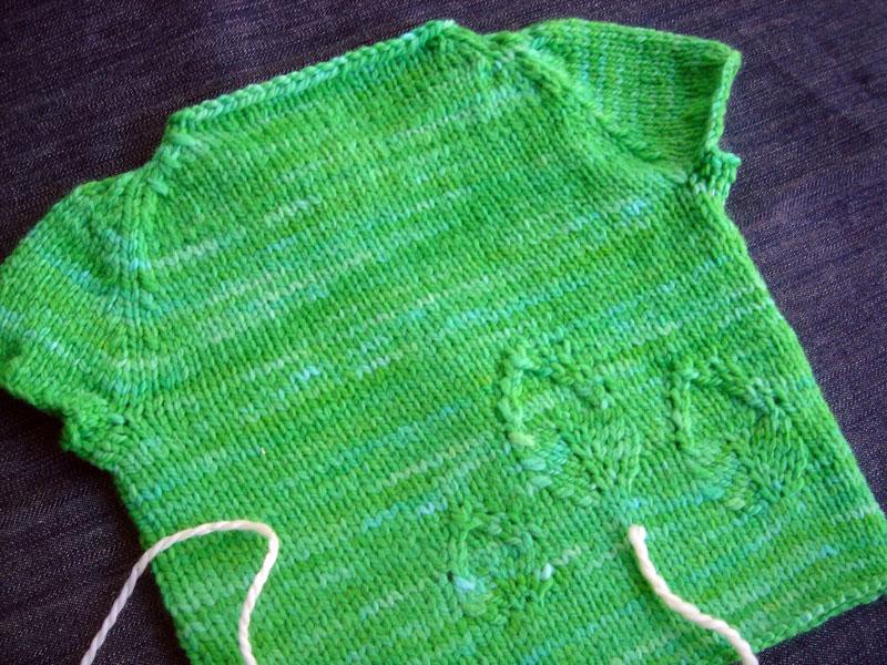"""Leafy vest em """"menta"""""""