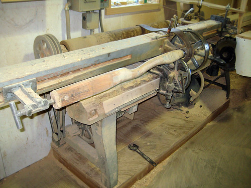Ax Handle Lathe