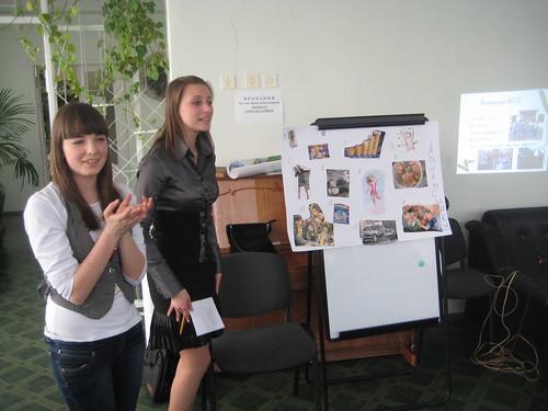 Семінар для лідерів шкільного врядування про ГО в Україні